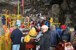 Shri Amarnath ji Temple.