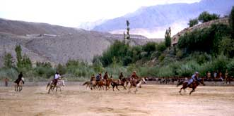 Polo-traditional sport of Drasstown & adjoining villages